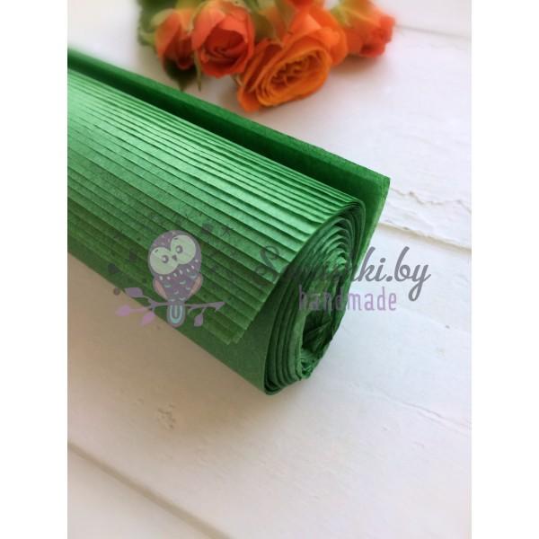 Бумага тишью темно-зеленая