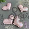 """Патч с переливом """"Сердечко"""", розовый"""