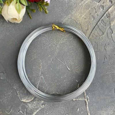 Проволока 1 мм, серебро