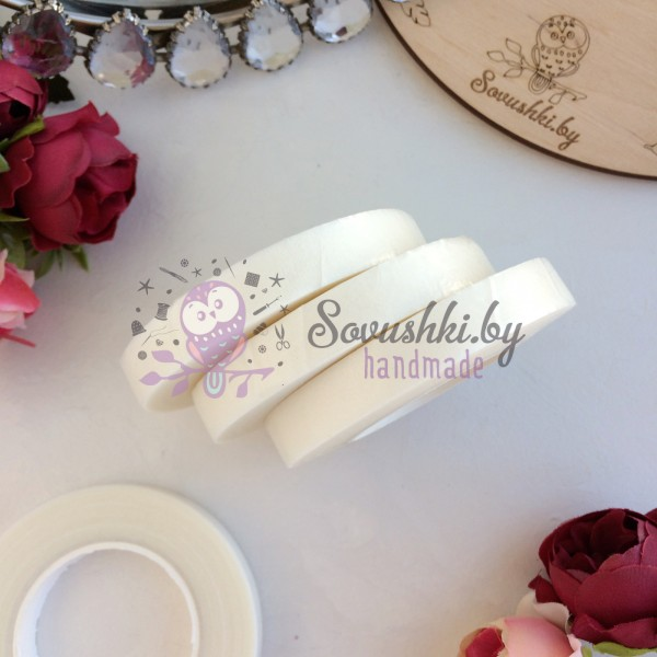 Флористическая лента (тейп-лента), белая
