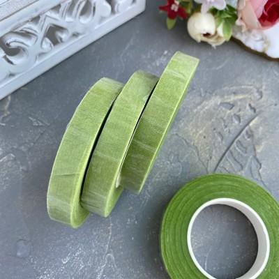 Флористическая лента (тейп-лента), салатовый