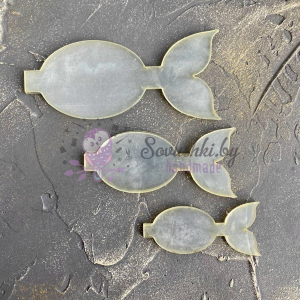 Набор шаблонов для бантика Ариэль №2