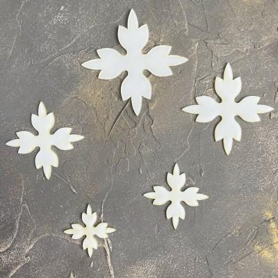 Набор шаблонов для бантика Цветочек №5
