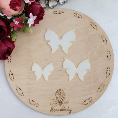 Набор шаблонов для бантиков Бабочки №1