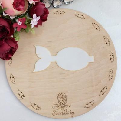 Шаблон для бантика Золотая рыбка