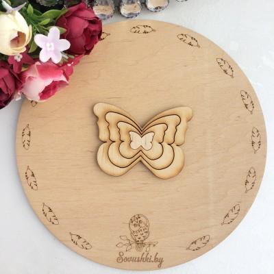 Набор шаблонов вкладыш Бабочки