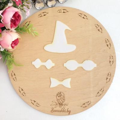 Набор шаблонов для бантика Колпак колдуньи