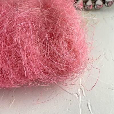 Сизаль, розовый №2