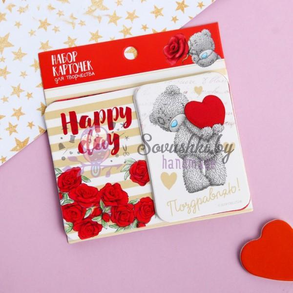 """Карточки для скрапбукинга """"Розы"""", Me to You"""