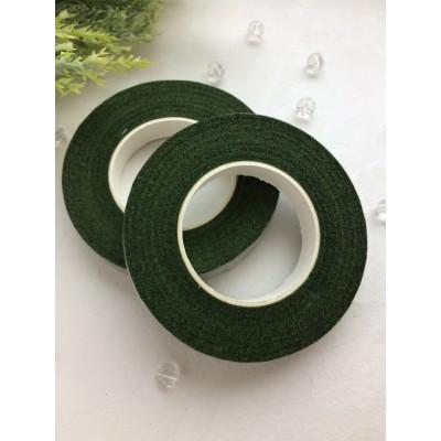 Флористическая лента (тейп-лента), зелёная