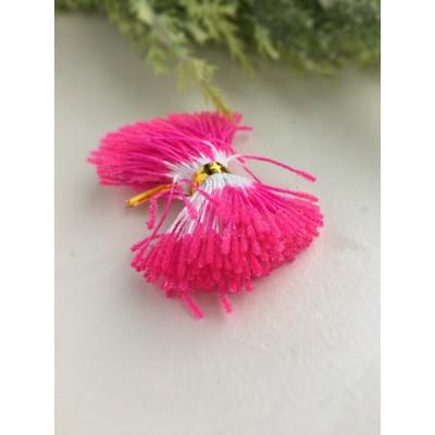 Тычинки пушистые в сахарной обсыпке розовые