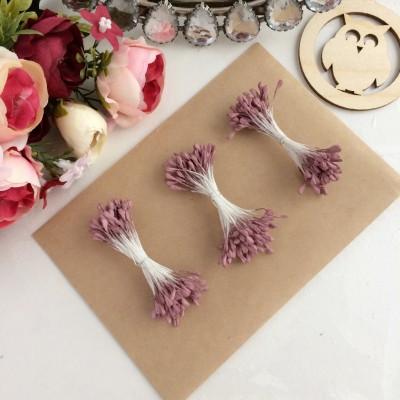 Тычинки для цветов матовые пенка ( 75 нитей)
