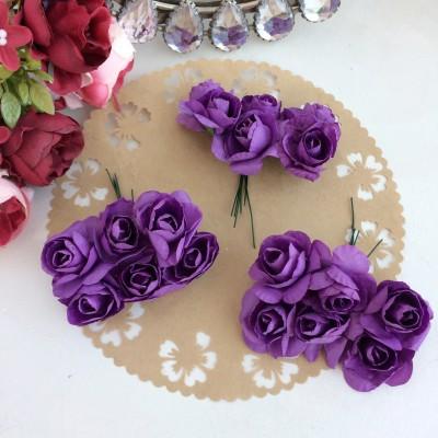 """Цветы бумажные """"Букет из роз"""""""