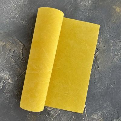 Замша искусственная двухсторонняя, желтый